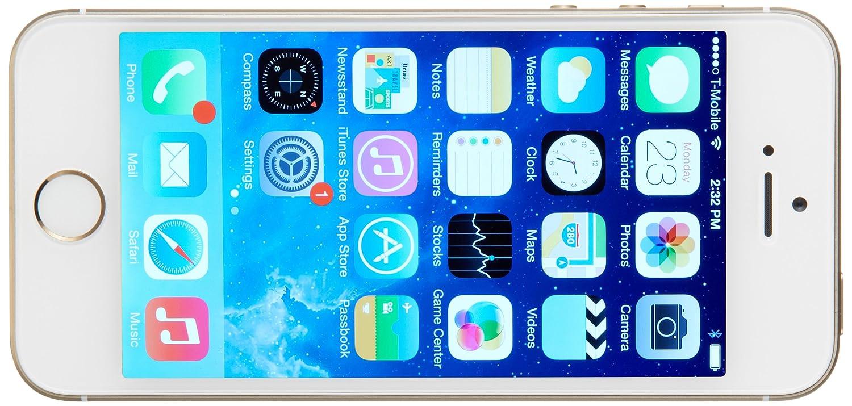amazon com apple iphone 5s 32 gb sprint gold cell phones