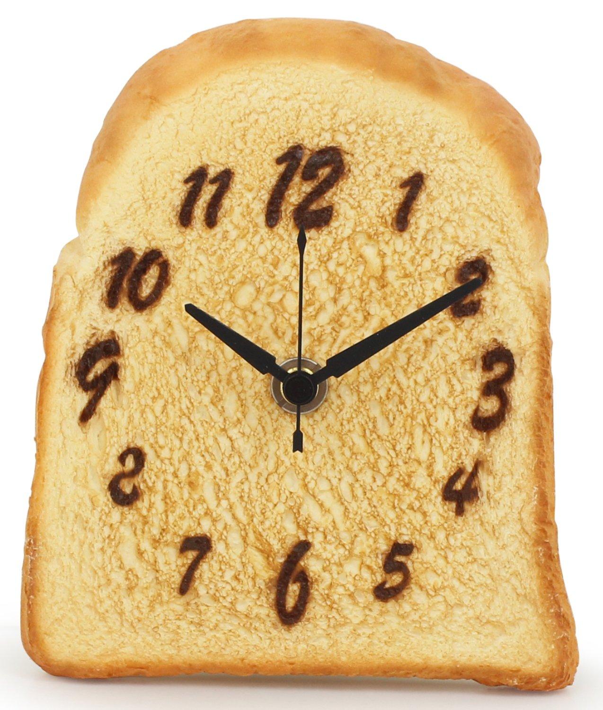 おりある 食品サンプル置き時計 こんがりパン時計 日本製 RGST04 B012EYPZG8