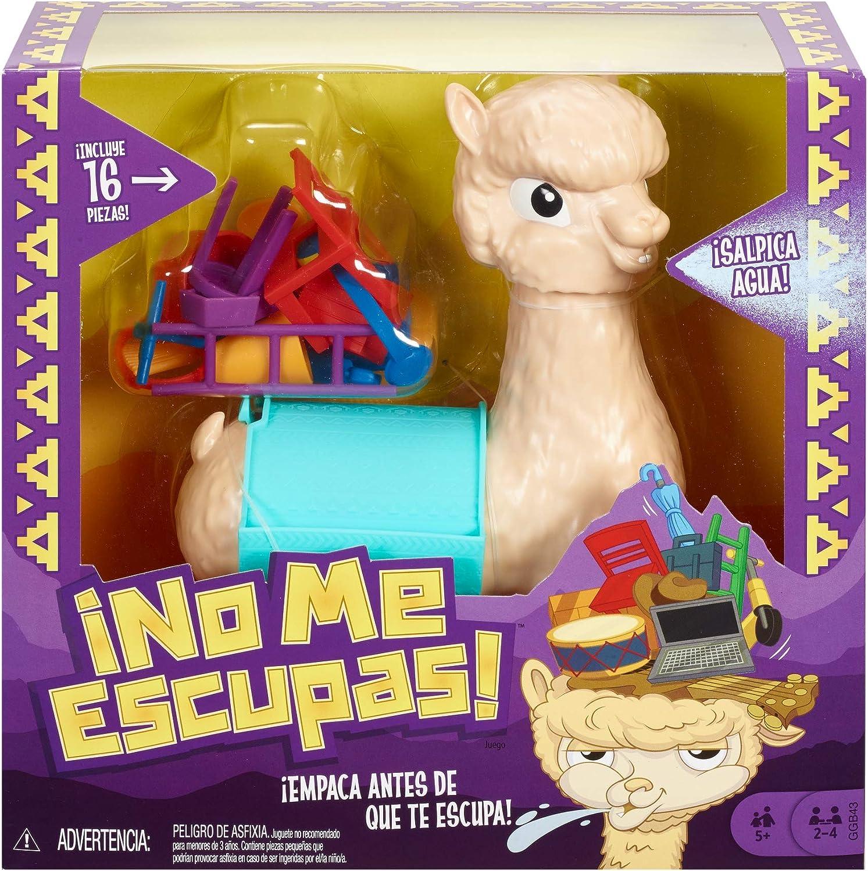 Mattel Games - Lupe la llama que escupe Juego de mesa para niños + ...