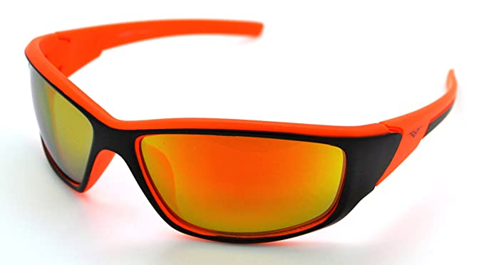 3e427e74eaaa VertX Lightweight Durable Mens   Womens Athletic Sport Sunglasses Cycling  Running w FREE Microfiber Pouch