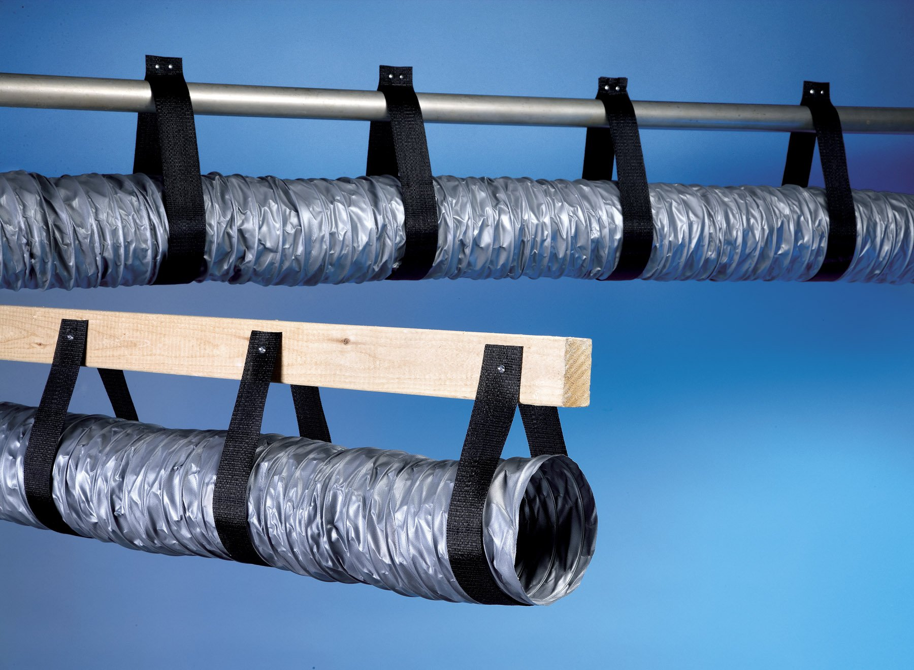 Cambridge Duct Support Webbing (150', Black) by Cambridge