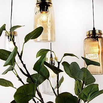 Pendelleuchte Jar Deckenleuchte Deckenlampe Vintage Ball Lampe