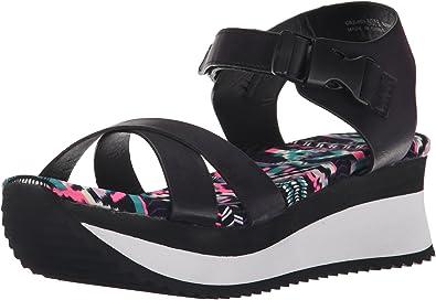 Ginger Ale Pu Platform Sandal