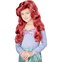 California Costumes Little Mermaid Wig (Red) Child Accessory