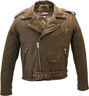 product image for Men's Classic Vintage Leather Jacket