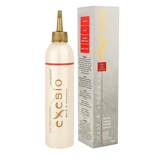 Champú para la pérdida del cabello, promueve el crecimiento del cabello, clínicamente probado y probado dermatológicamente. Tratamiento Adelgazante Capilar ...