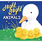 Night, Night to the Animals - Children's Padded Board Book - Bedtime Animals
