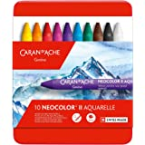 Caran D'Ache Giz Aquarelável Neocolor II 10 Cores, 10 Cores