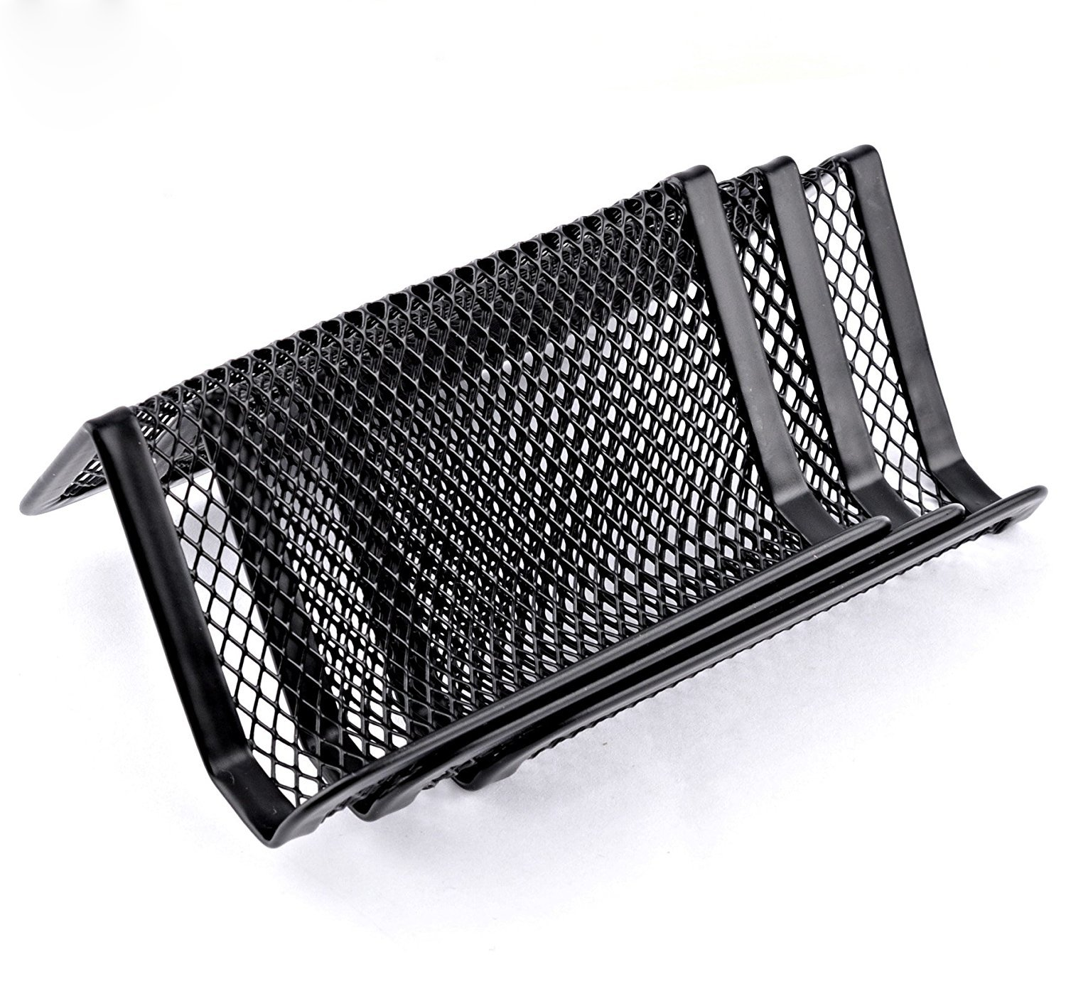Amazon.com : MaxGear Metal Mesh Business Card Holder for Desk Office ...