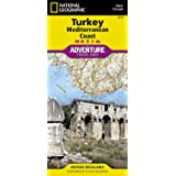 National Geographic Adventure Map Turkey Mediterranean Coast