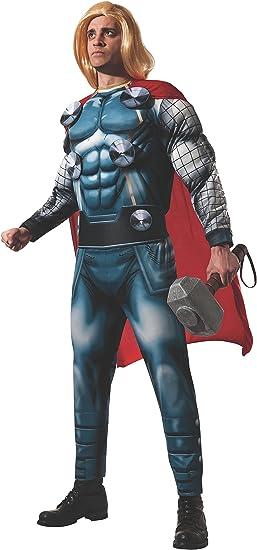 Rubies s Oficial Adultos de Marvel Thor Deluxe Disfraz para ...