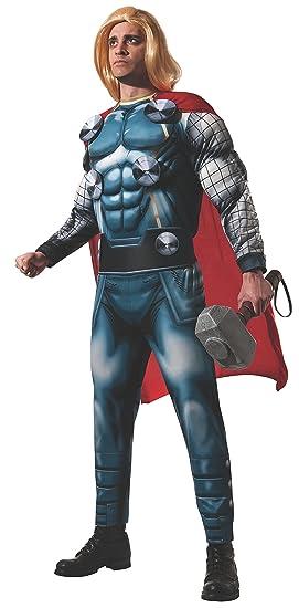 Rubies s Oficial Adultos de Marvel Thor Deluxe Disfraz para Adulto – Estándar