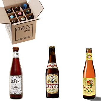 Caja degustación 9 cervezas belgas. Una selección de tres de las cervezas belgas más premiadas