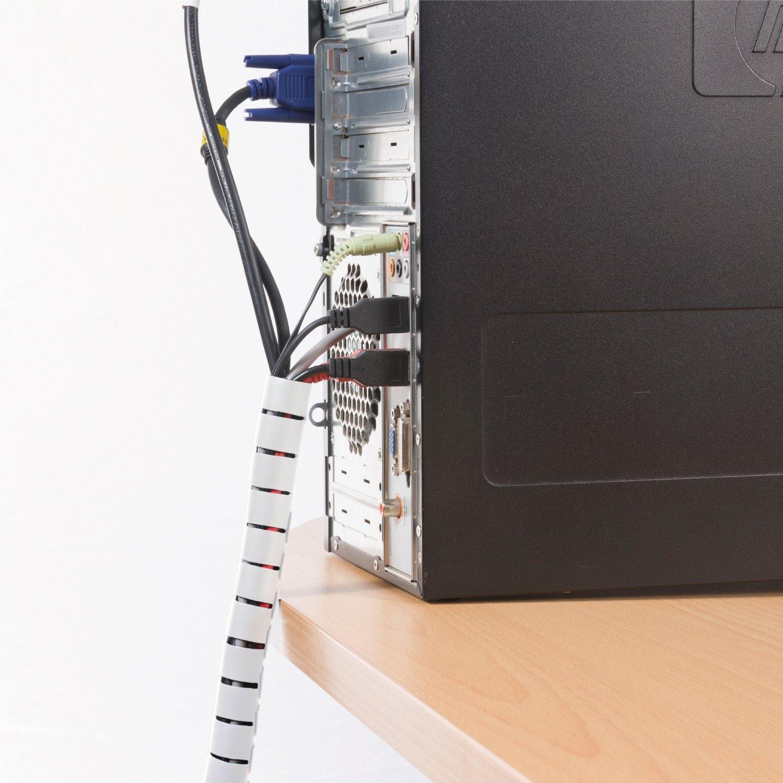 D-Line Cable Zipper | Cable Management System| Cable Organiser Por on