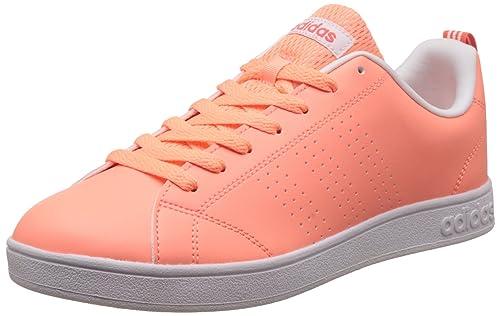 0937ab0e30d Adidas Tenis Advantage Clean Tenis para Mujer Naranja  (Sunglo sunglo eascor) Talla