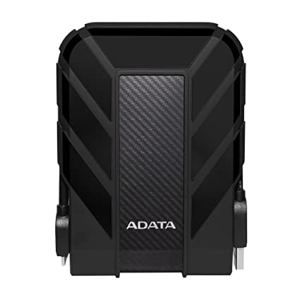 ADATA DashDrive 1TB HD710 Military-Spec USB 3 0 External Hard Drive  AHD710-1TU3-CBK (Black)