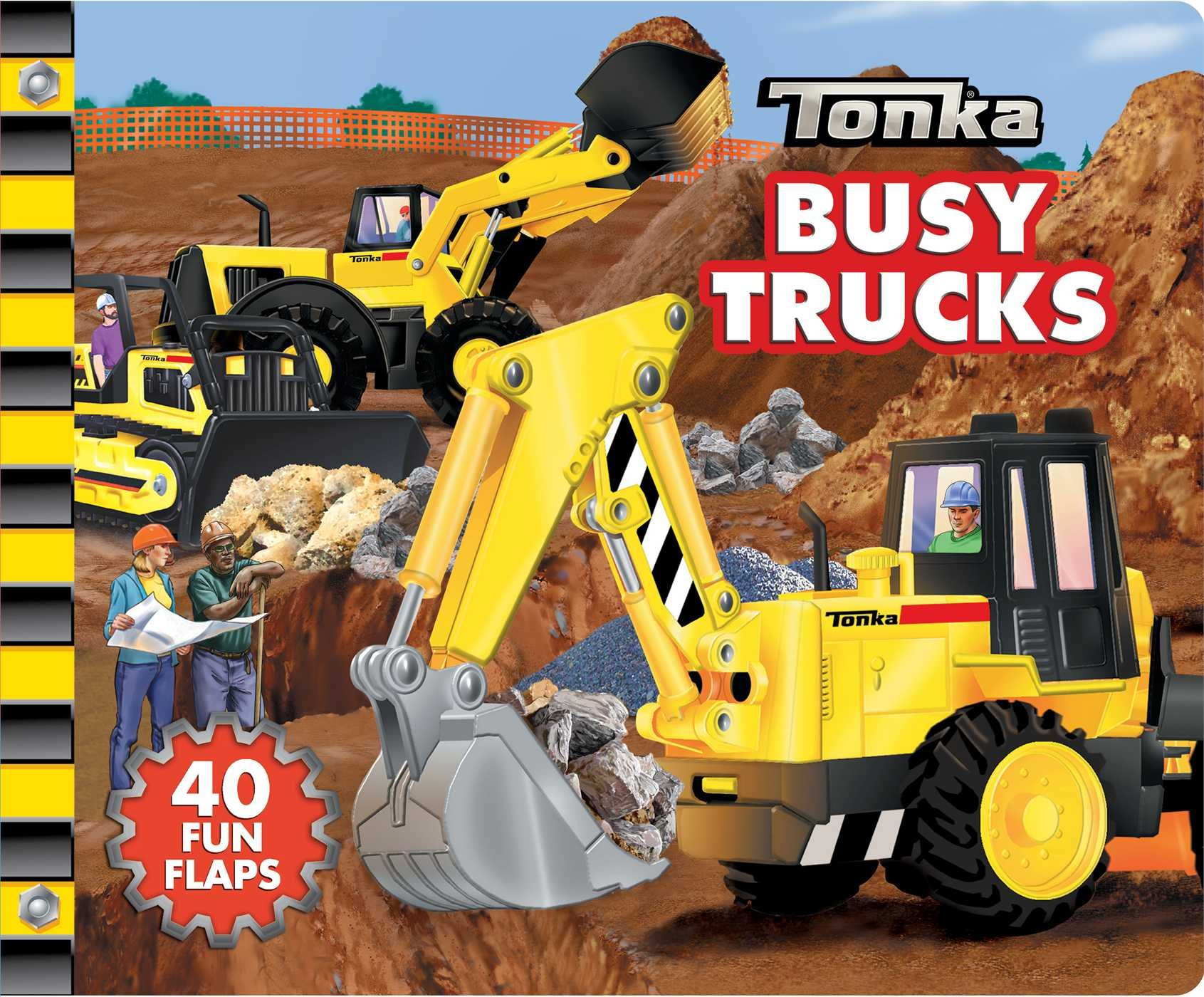 Read Online TONKA Busy Trucks: A Lift-the-Flap Book PDF