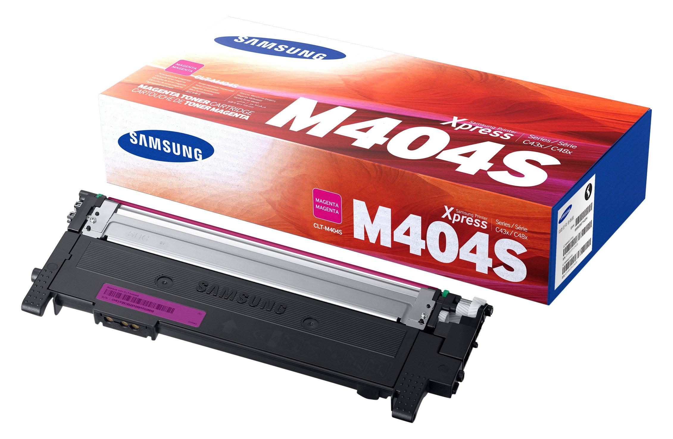 Toner Original SAMSUNG CLT-M404S Magenta para Xpress C430W C480FW SS230G#BGJ SS256H#BGJ