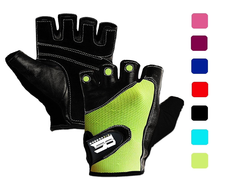 ジムトレーニング用手袋パワーリフティング、重量バイキング、サイクリング – プレミアム品質ウェイトリフティンググローブワークアウト手袋W/洗濯可能のCallusとブリスター保護。 B014ZAM1WA X-Small|ネオングリーン ネオングリーン X-Small