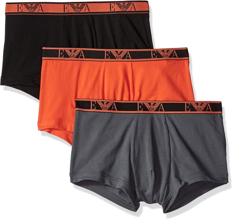 TALLA S. Emporio Armani Underwear Pantalones Cortos para Hombre