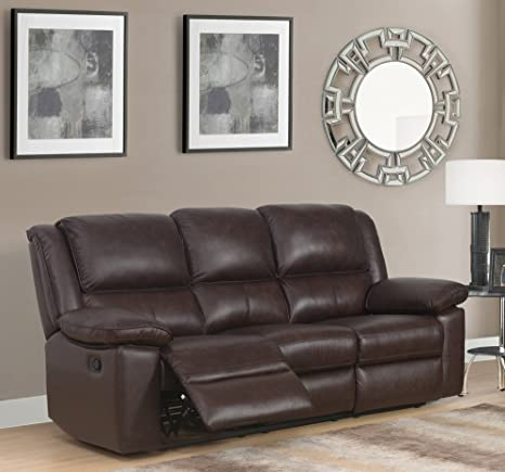 SC Furniture Ltd Marrón Cuero auténtico de Alta Calidad ...