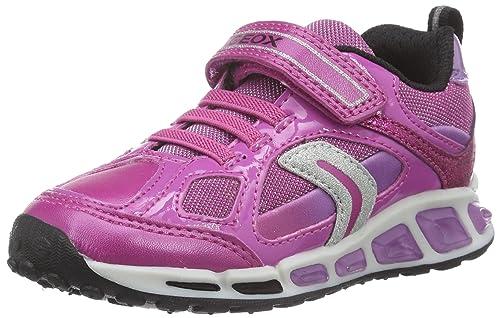 Geox J Shuttle Girl D, Zapatillas para Niñas: Amazon.es: Zapatos y complementos