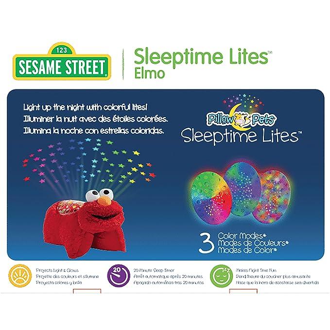 Amazon.com: Barrio Sésamo Elmo Sleeptime Lites – Elmo ...