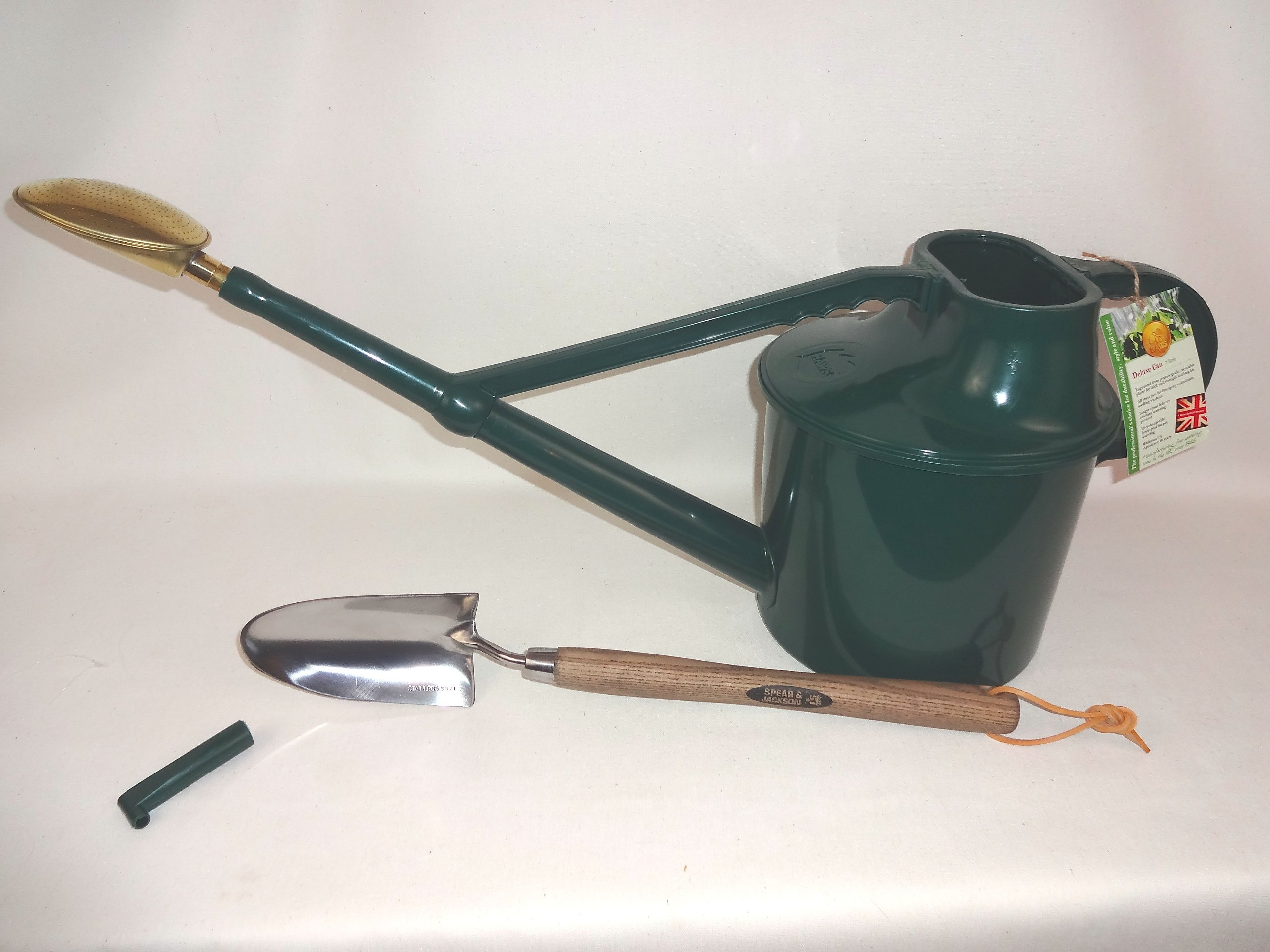 Haws Deluxe Watering Can + Free Hand Tool by Haws