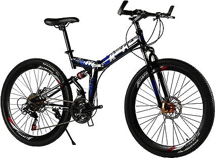 Mountain Bike 26in Full Suspension Bicycle Shimano 21 Speed MTB Bikes Outdoor