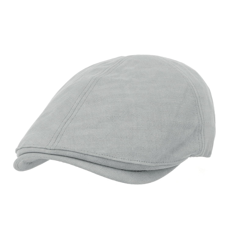 WITHMOONS Simple Newsboy Hat Flat Cap SL3026 SL3026Beige