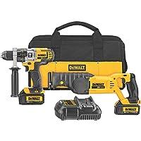 DEWALT 20V MAX Cordless Drill Combo Kit with Reciprocating Saw, 2-Tool (DCK292L2)