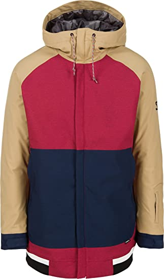 O'Neill Men's Seb Toots Jacket, Large, Scooter Red