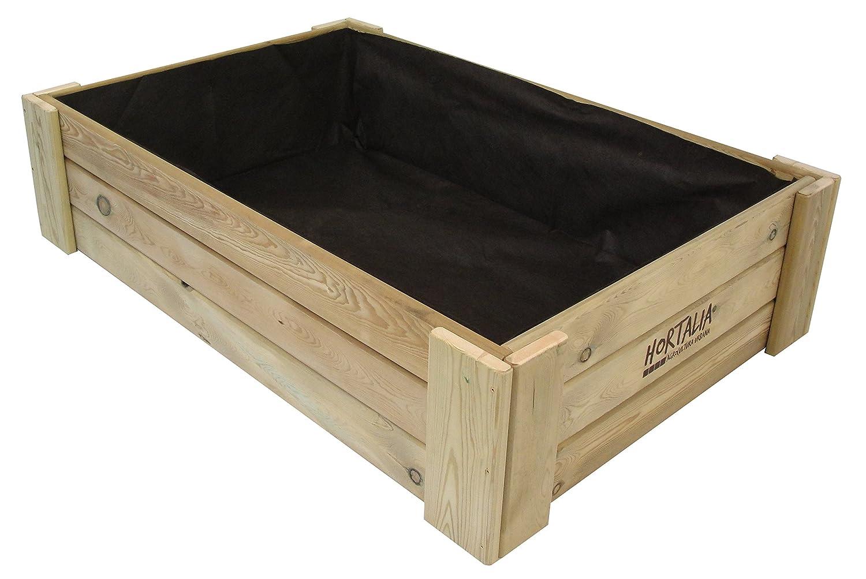 Hortalia Box - Huerto Urbano Cajón de Cultivo, 120 x 30 x 80 ...