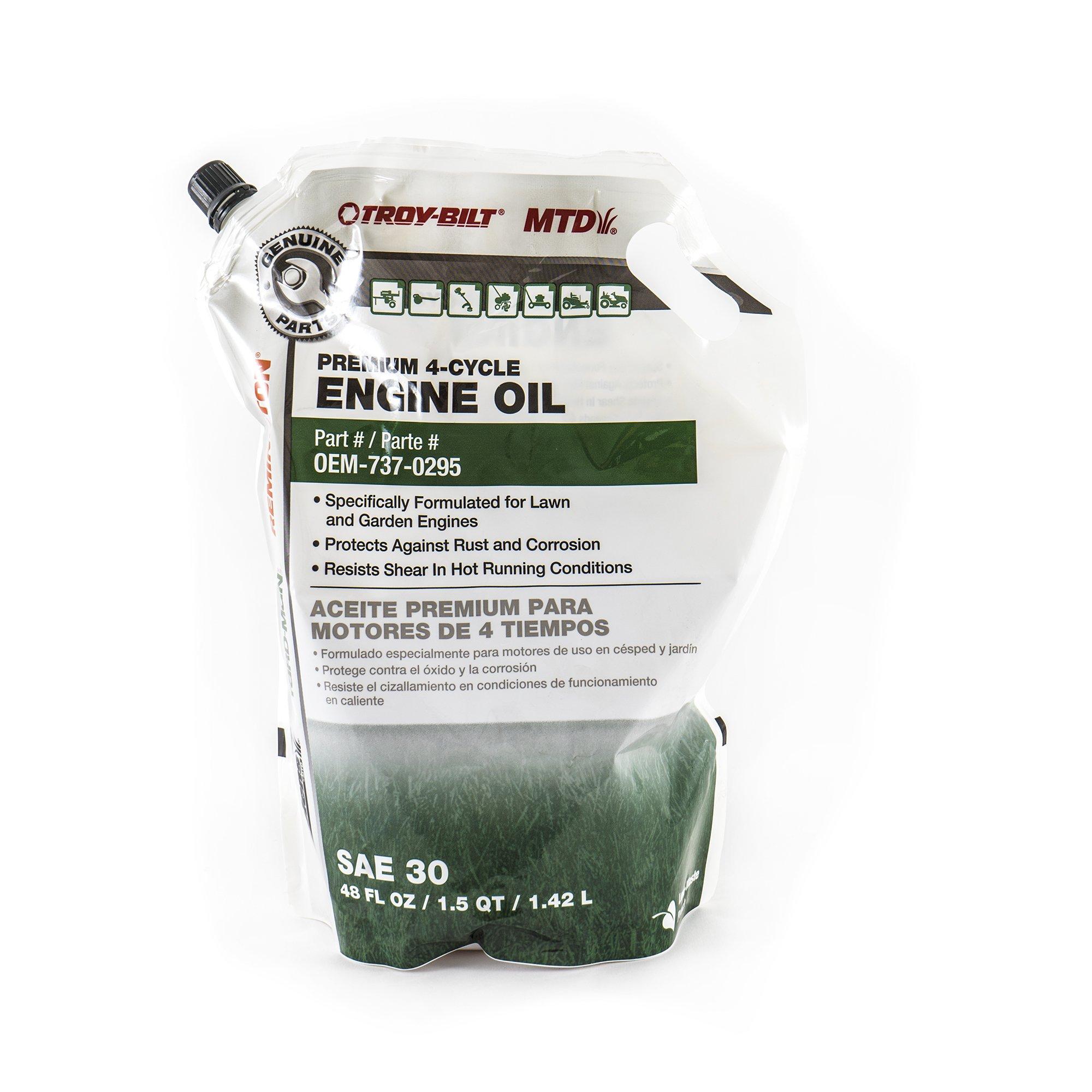 MTD Genuine Parts 48 oz. Premium 4-Cycle Engine Oil