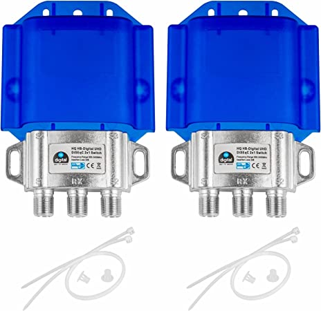 2x Hq Diseqc Schalter Switch 2 Elektronik