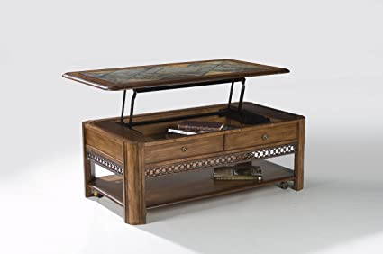 Bon Magnussen Madison Wood Rectangular Lift Top Cocktail Table