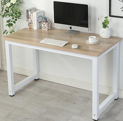 Mesa de escritorio de ordenador PC oficina en casa de muebles (4 ...