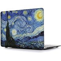iCasso MacBook Air 33cm Caso Carcasa rígida brillante carcasa de plástico cubierta protectora para Apple Laptop MacBook Air 33cm recubiertos de goma modelo A1369/A1466, Starry Night