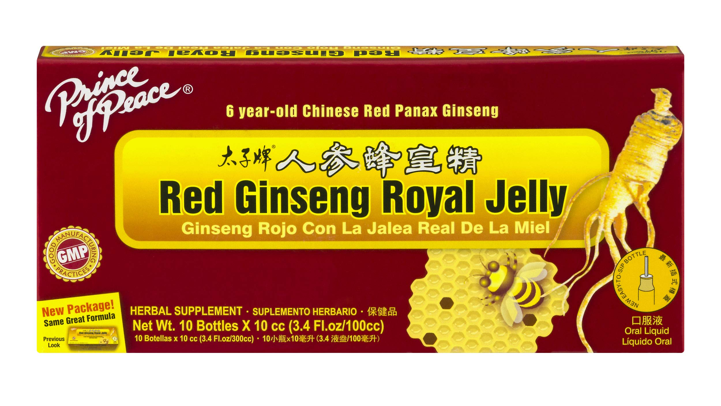 Prince of Peace Red Ginseng Royal Jelly