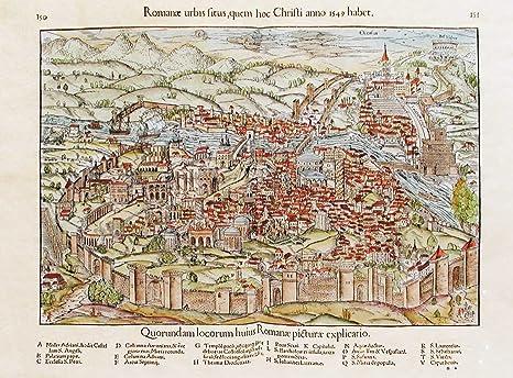Cartina Antica Roma.Scarica Stampe Antiche Da Qkcmj Magicmind Info