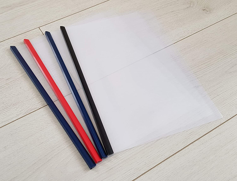 Ideal for Collage Students Office Work Presentation by Delivered Direct. Document Folder A4 Slide Binder and Cover BestSeller 4 Pack