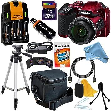 Amazon.com: Nikon Coolpix B500 WiFi, NFC cámara digital w/40 ...