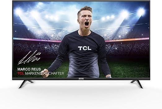 TCL 43DP602, Televisor de 43 pulgadas, Smart TV con UHD 4K, HDR, Dolby Digital Plus, T-Cast y sintonizador Triple, Color Negro: Amazon.es: Electrónica