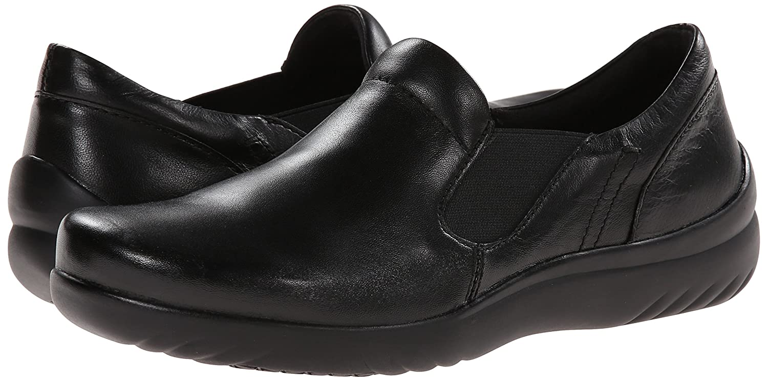 Klogs USA B00MY9A7EE Women's Geneva Slip-On Shoe B00MY9A7EE USA 6.5 B(M) US|Black Smooth f32363