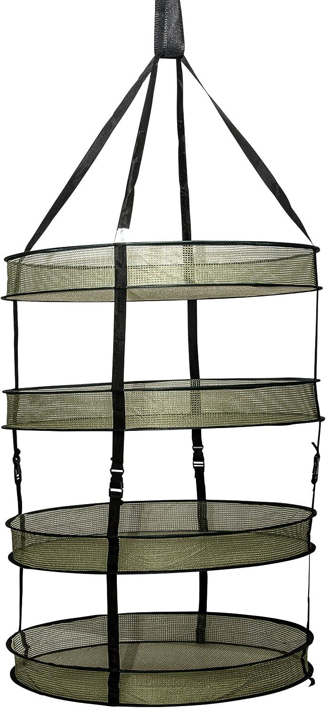 Supporte une charge jusqu/à 6lbs // 3kgs S/échoir /à herbes /à suspendre /à 4 niveaux avec sac de culture et pochette de rangement zipp/ée Dimension s/échoir : 22 x 30 // 55cm x 77cm Mixtitude
