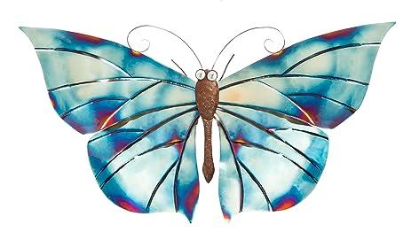 Amazon.com: Cape Craftsmen Butterfly Metal Wall Decor in Buffed ...