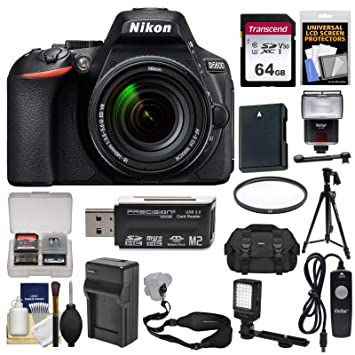 Amazon.com: Nikon d5600 Wi-Fi Cámara réflex digital & 18 ...