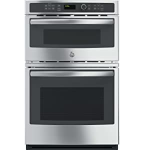 "GE JK3800SHSS 27"" Stainless Steel Electric Combination Wall Oven"