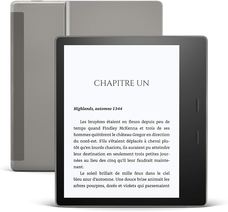 foto de Kindle Oasis, Maintenant avec température d'éclairage ajustable ...