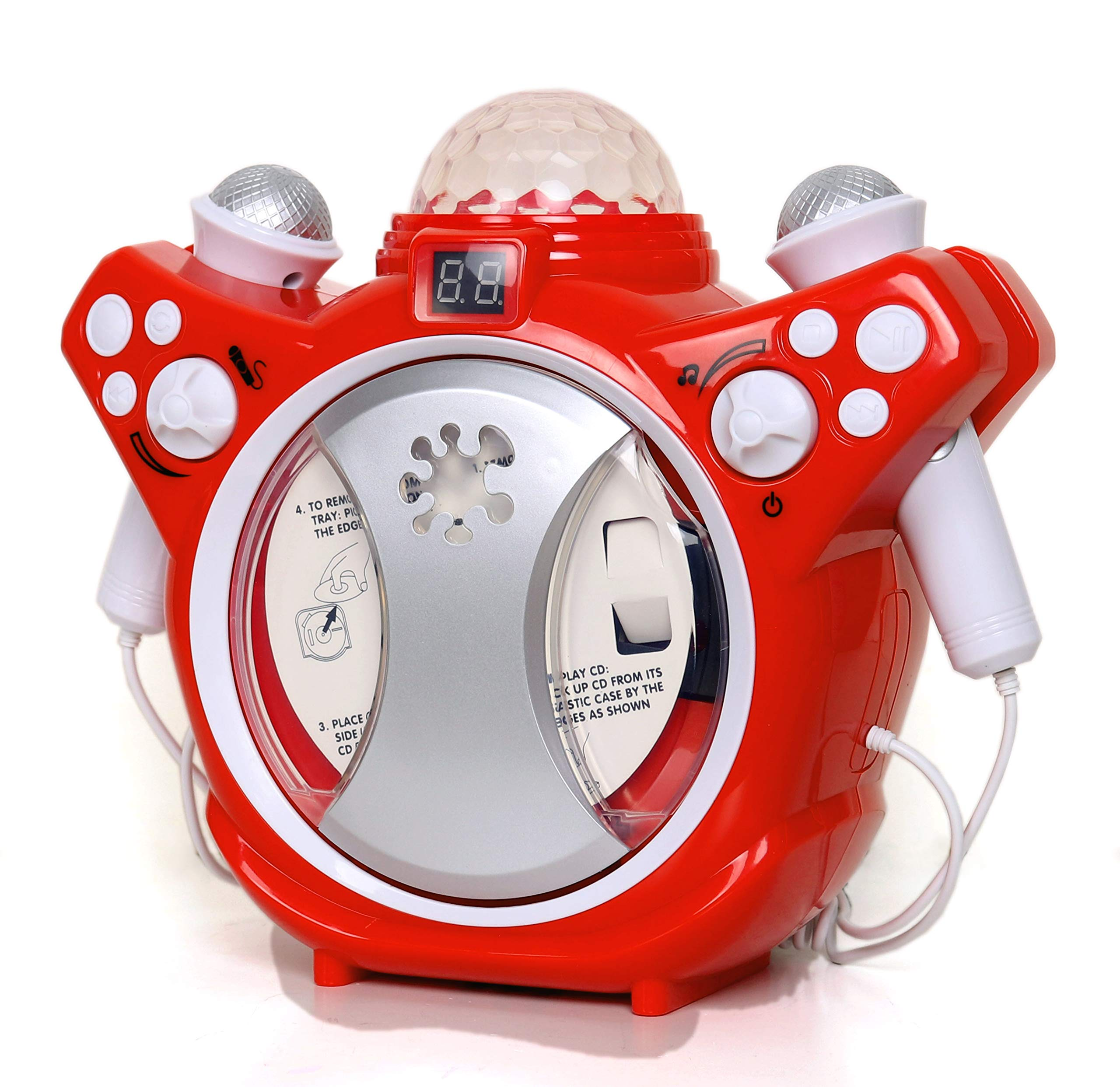 C.Z Kids Karaoke CD Player Listen or Sing Along to Your Favourite Songs by C.Z (Image #2)